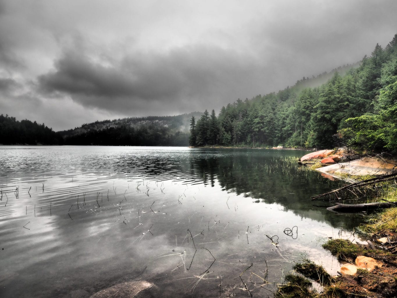 Shiguag Lake Rain Clouds