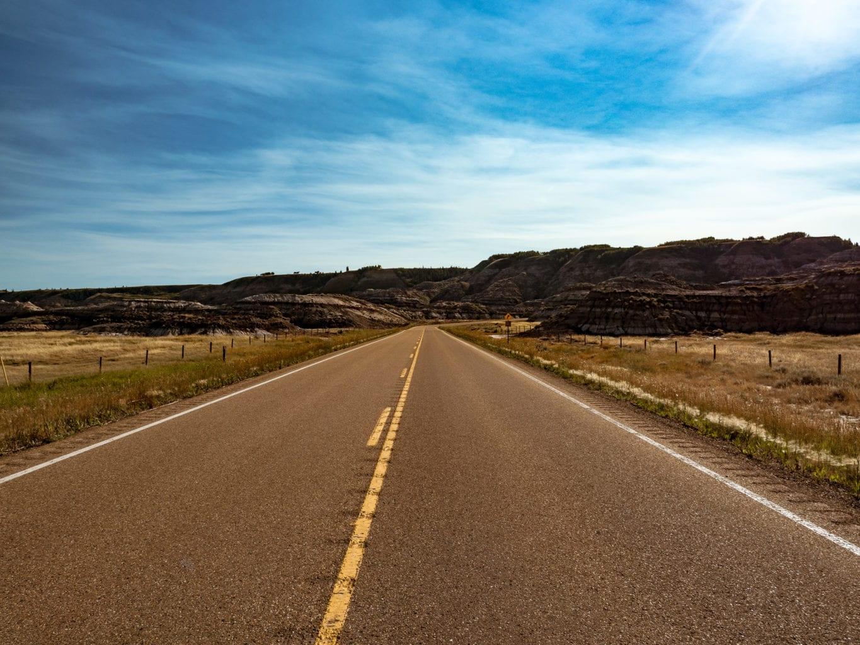Badlands Dinosaur Trail and Hoodoo Drive