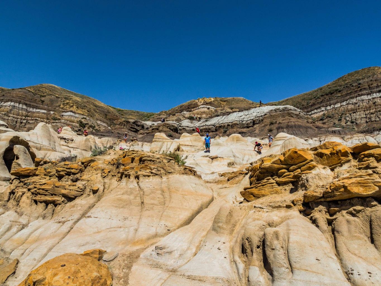 Badlands Dinosaur Trail Hoodoo Drive