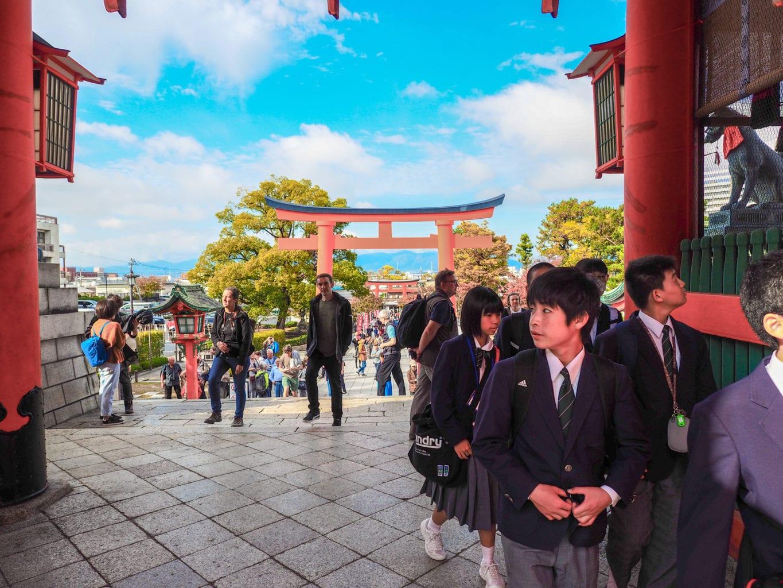 Kyoto Fushimi Inari Entrance