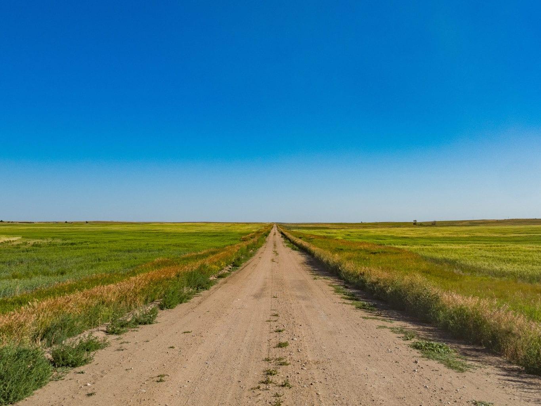 Grasslands National Park Road