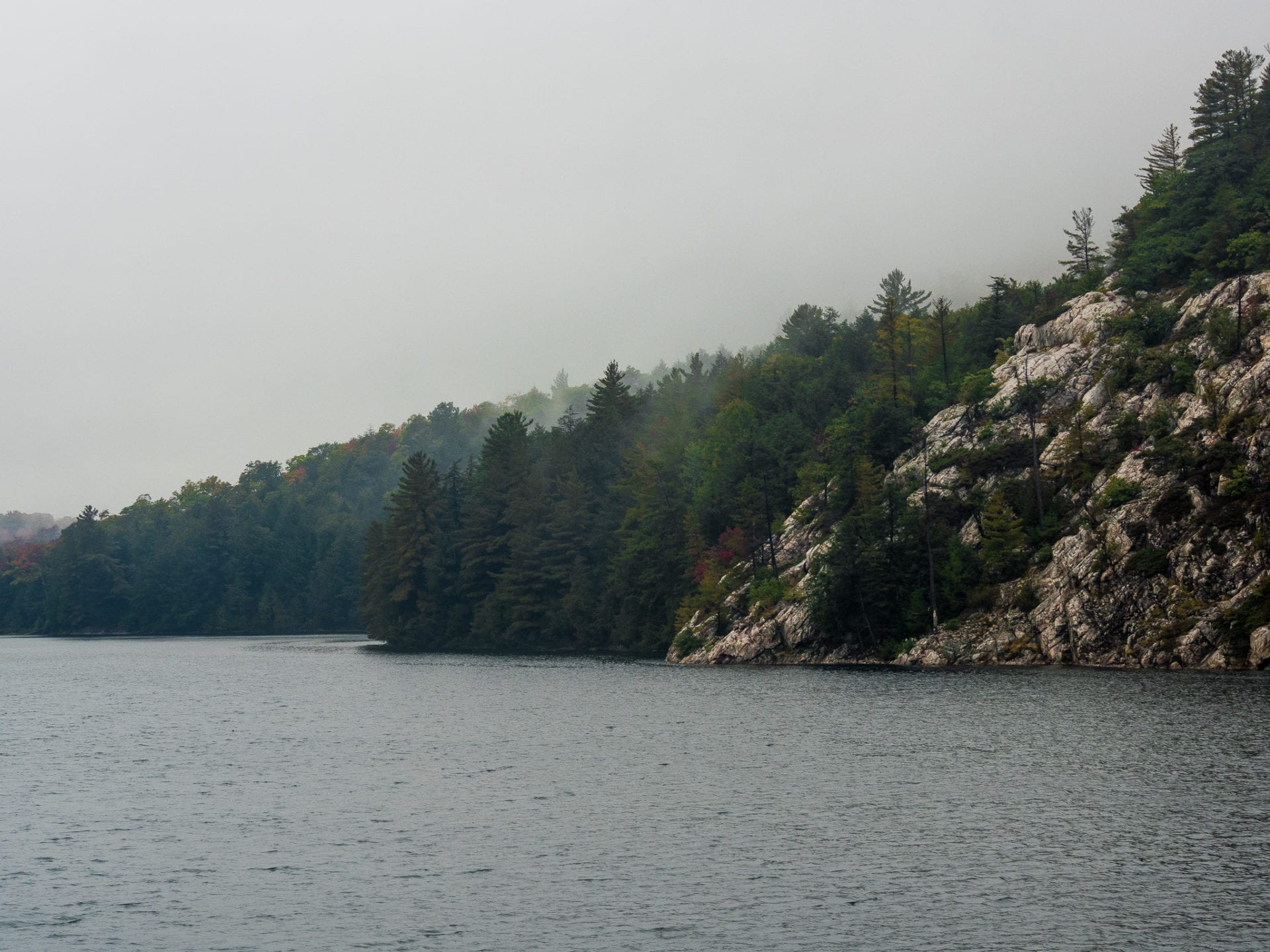 Lake Killarney Provincial Park Cloudy Mist