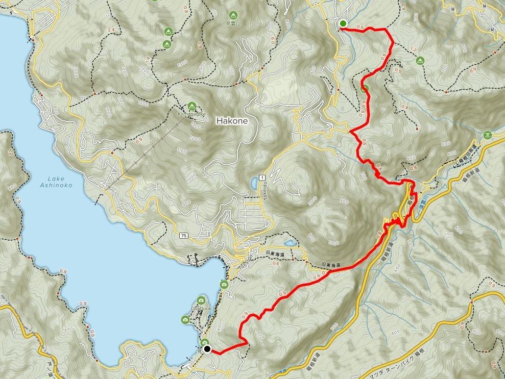 Hakone-Trail-Run-Hike-Chisuji-Falls